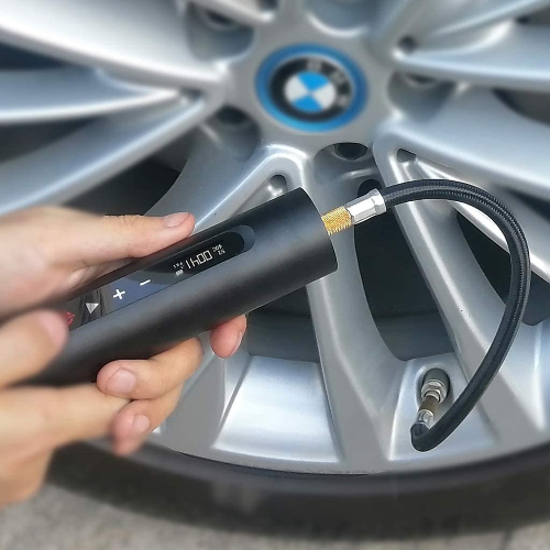 Norshire portable tire inflator fill car tire in 4 minutes