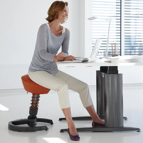 Swopper stool bounce move fidget while seated