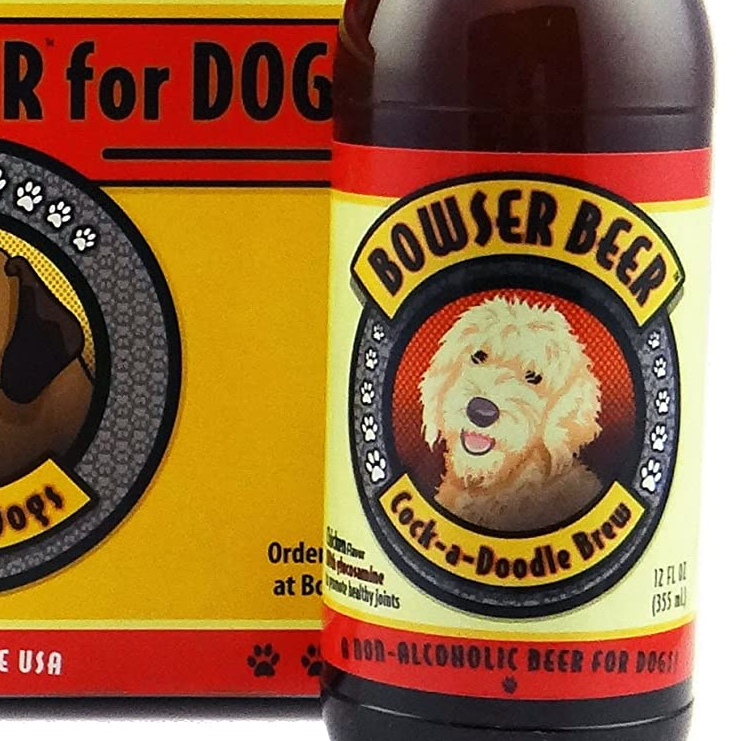 cock a doodle brew bowser beer a beer brewed for dogs